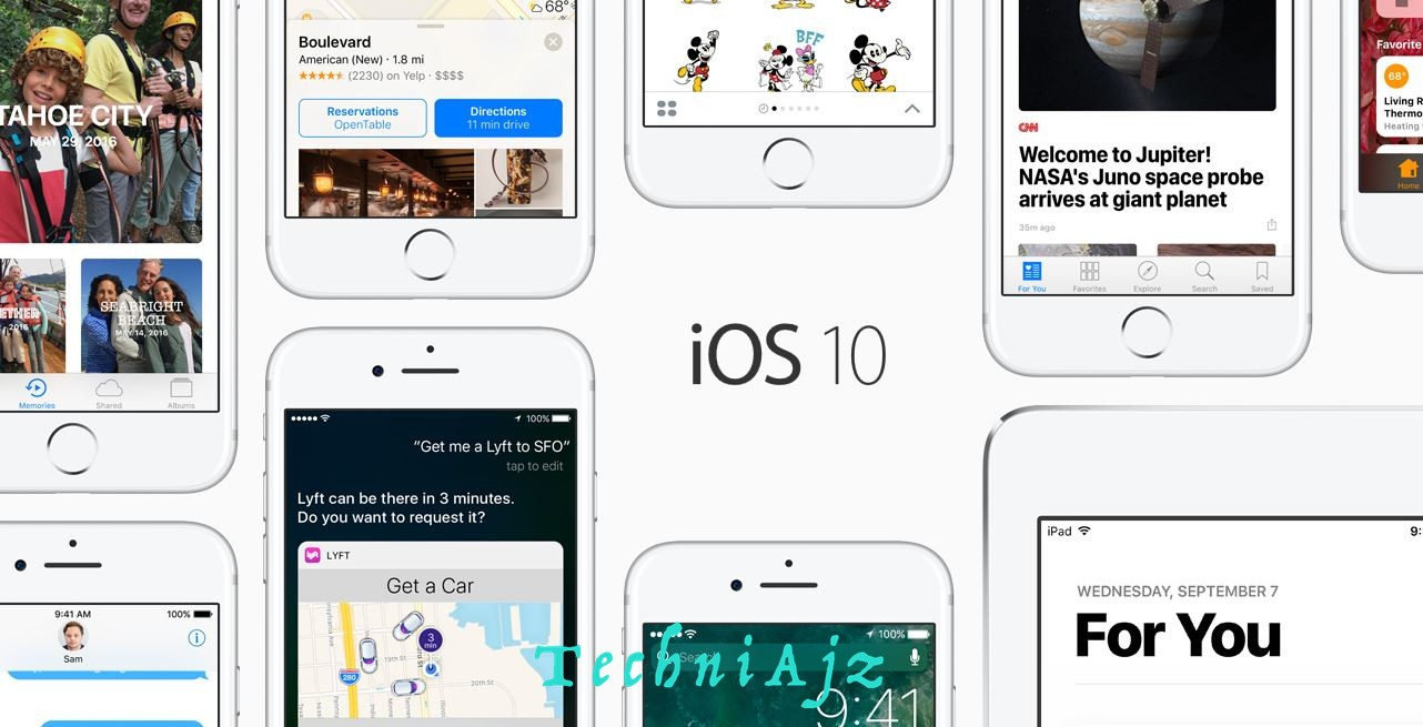 Finally iOS 10 Release | iOs 10 Release for all