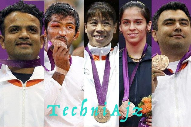 All Time Olympic medalist in India