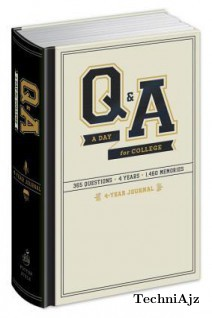 Q&A a Day for College: 4- Year Journal(Hardcover)