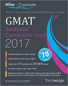 Wiley's Gmat Sentence Correction Grail 2017(Paperback)