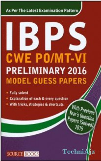 IBPS CWE PO/MT- V Preliminary 2016 Model Guess Papers(Paperback)